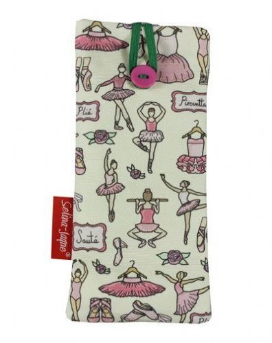 Selina-Jayne Ballet Limited Edition Designer Soft Glasses Case